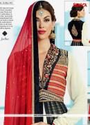 Beckon bedazzlement Banarasi Embroidery Anarkali Suit
