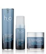 H2O 3 In 1 Combo of Foaming Cleanser, Daily Defense Serum and Line Mender