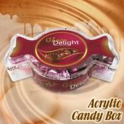 Choco Delight Acrylic Candy Box