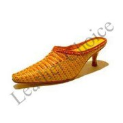 Leather Woven Shoes For Women