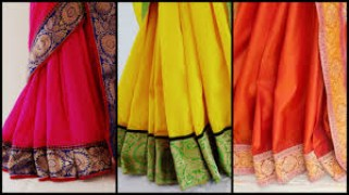 Party Wear Saree- Combo Of 3