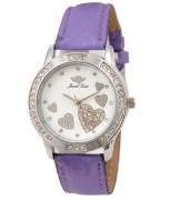 Jewel Time JT-LR001-WHT-PRP Women Watch