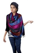Flying Colors Multi Colors Big Dot Shawls and Stoles