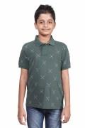 U.S. Polo Assn. Boys Short SleeveCotton Printed T-Shirt