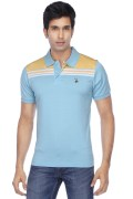U.S. Polo Assn. Mens Short Sleeves Slim Fit Solid Polo T-Shirt