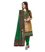 Cotton Printed Unstitched Punjabi Suit