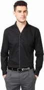 Black Cotton Shirts For Men's