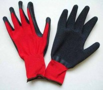 Crinkle Latex Coated Glove
