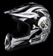 Studds Fullface Helmet Motocross Decor Smile N12