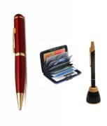 R.S.C.Spy Pen with High Quality Video Camera + Built-in 4GB USB Pen Drive + Free Card Holder