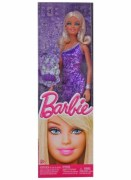 Barbie Doll Blue With Smal Bag