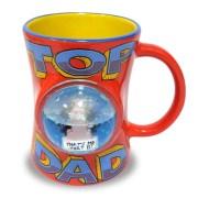 Archies Top Dad Globe Mug