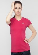 Adidas V Neck Casual Basic T Shirt