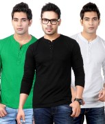 Street Junkies Combo Of 3 T Shirts For Men