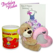 Archies Birthday Gift Combo for Girls