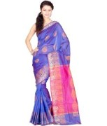 Stylish Pure Cotton Banarasi Saree