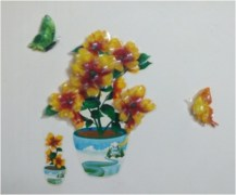 Colorful Flower Wall Sticker