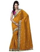 Yellow Bhagalpuri Art Silk With Blouse Piece  STSA001-1002
