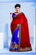 Attractive GL-42036 Printed Light Embroidery Saree