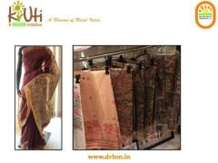 Hand Printed Saura Saree