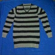 Grey Black Pattern T-shirt