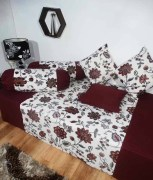 Floral Cotton Single Bedsheets With Covers