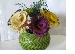 Amazing Shades Wooden Flower Pot