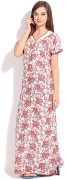 Floral Print Womens Night Dress