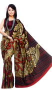 Printed Malbari Silk Saree For Womens