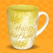 Archies Happy Birthday To U Mug