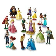 Disney Princess Deluxe 16 Pieces Figure Set