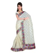 Brasso Cotton Saree for Womens