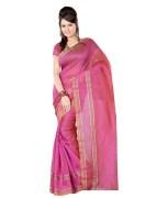 Lovely Pink Colour Chettinad Silk Saree