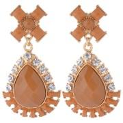 Sun Jewels Drop Style Earrings