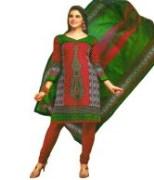 Premium Cotton Unstitched Punjabi Suit with Dupatta