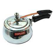 Topline Silver Gold Pressure Cooker 5 Ltrs