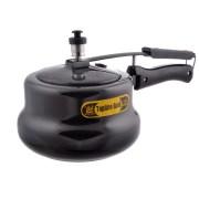 Topline 3 Ltrs Hard Anodized Black Handi Pressure Cooker
