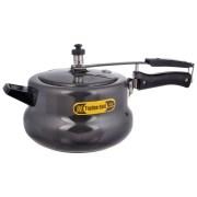 Topline 6.5 Ltrs Hard Anodized Black Handi Pressure Cooker