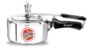 United Inner Lid 5 Litre Aluminium Pressure Cooker