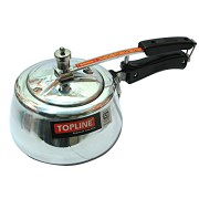 Topline Silver Gold Pressure Cooker 3 Ltrs