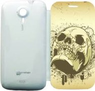 Printland Flip Cover for Micromax A116