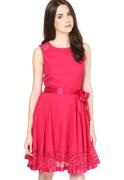 The Vanca Knit Fuchsia Dress