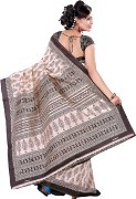 Printed Cotton Saree For Womens