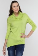 Elle Assymetric Cowl Neck Sweater