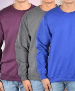 Round Neck Pullovers Combo Of 3