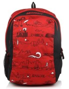 Wildcraft Scoot Ld Red Backpack