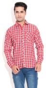 Pazel Men's Checkered Casual Shirt