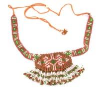 Awesome Jewellery-Dbj1002-Brown Beaded Choker