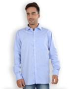 Peter England Light Blue Cotton Shirt
