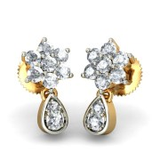 The Juvela Diamond Earring In 18Kt Yellow Gold